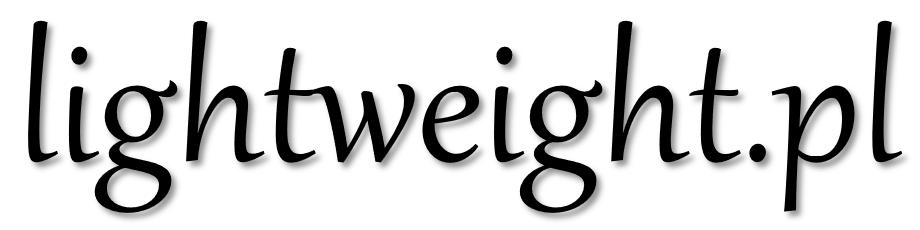 Logotyp lightweight